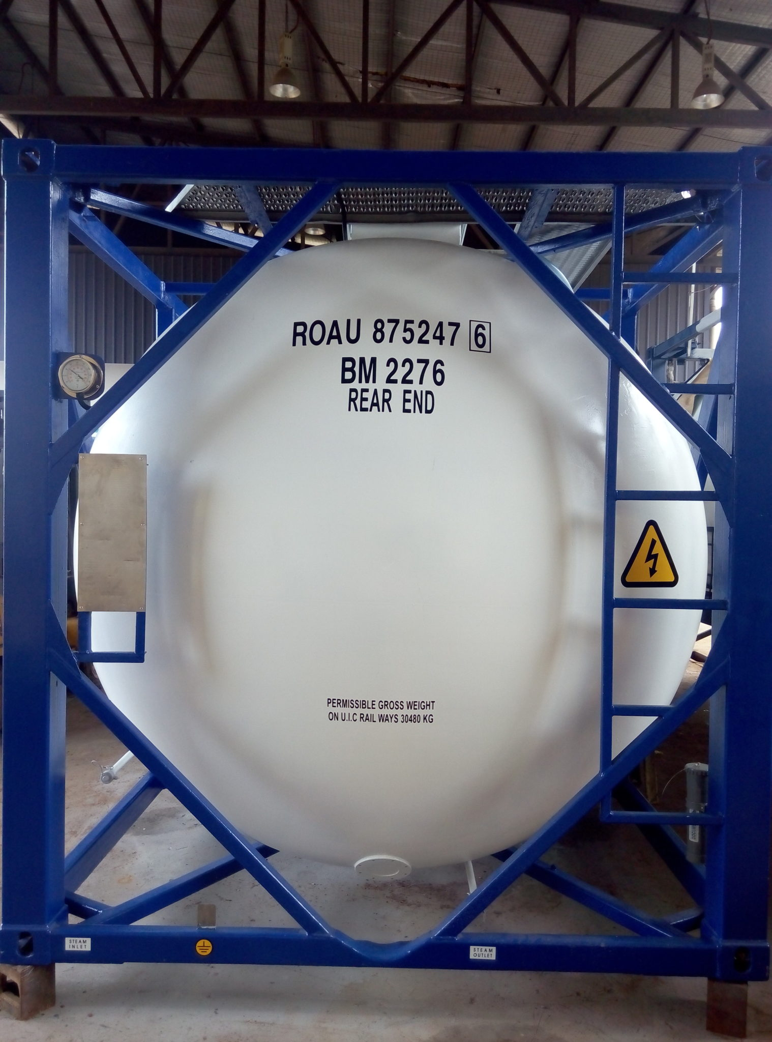 Liquid Waste Tank & IMO5 / T50 Gas Tank for Sale | Tankformator